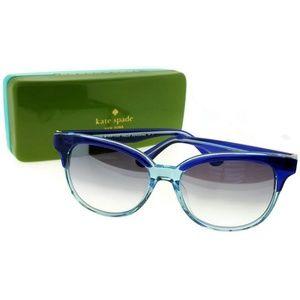Arlynn-S-0VY5-52 Unisex Blue Frame Sunglasses